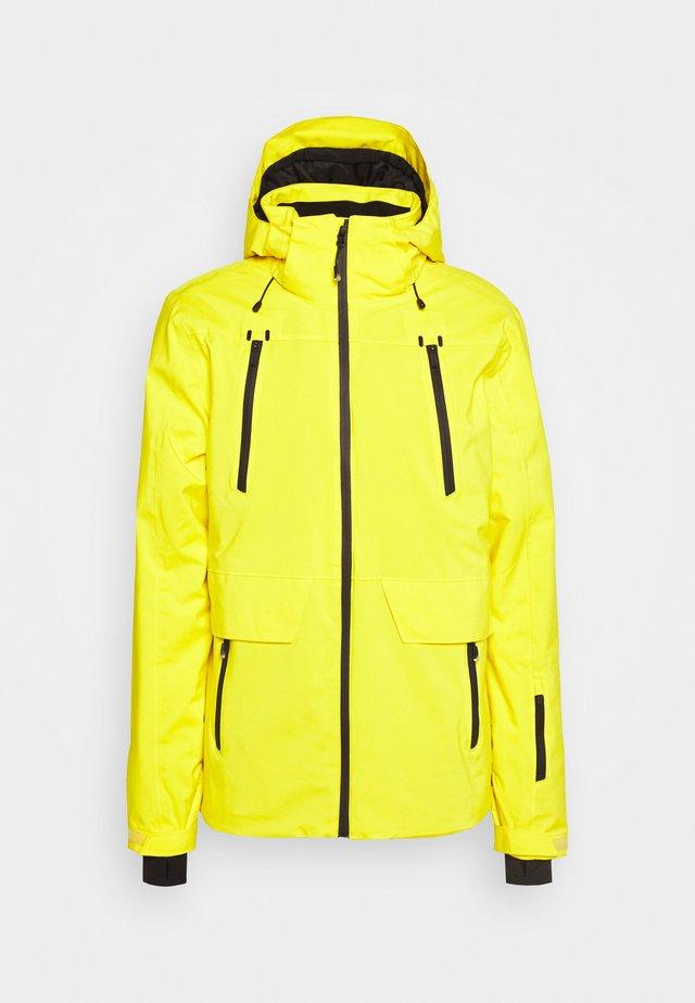 BORAN MENS SNOWJACKET - Snowboard jacket - cyber yellow