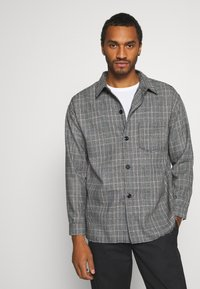 Mennace - RAW HEM CHECK  - Lehká bunda - grey - 0