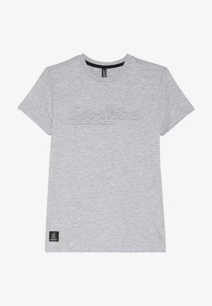 BOYS GOOD VIBES - T-shirt print - hell grau melange