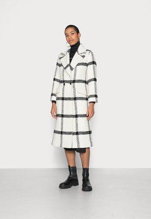 MABEL COAT - Mantel - black/white