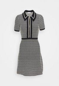 sandro - POLIE - Shirt dress - noir/blanc - 0