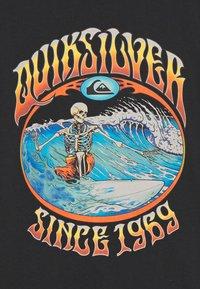 Quiksilver - LOST ALIBI YOUTH - T-shirts print - black - 2