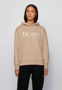 BOSS - C_EDELIGHT_ACTIVE - Hoodie - light brown - 0