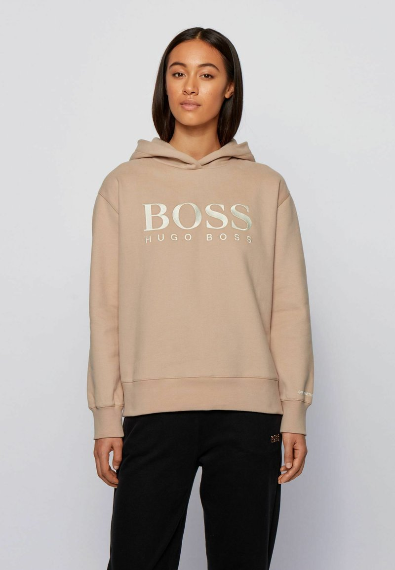 BOSS - C_EDELIGHT_ACTIVE - Hoodie - light brown