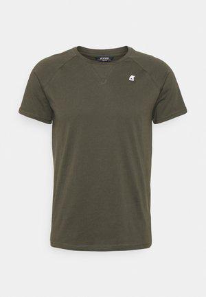 EDWING UNISEX - T-shirt basique - black torba