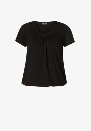 YONI - Basic T-shirt - black