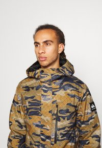 Quiksilver - MISSION - Snowboard jacket - military olive - 3