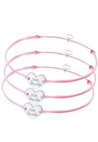 Elli - SET - Bracelet - rose-coloured - 3