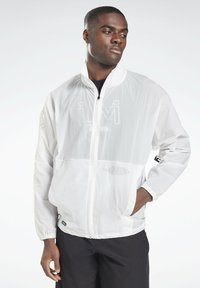 Reebok - LM TRACK JACKET - Training jacket - white - 0