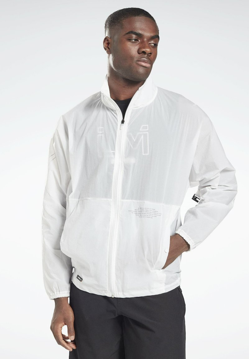 Reebok - LM TRACK JACKET - Training jacket - white