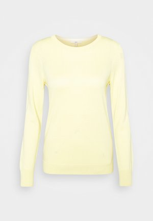COO - Strikkegenser - light yellow