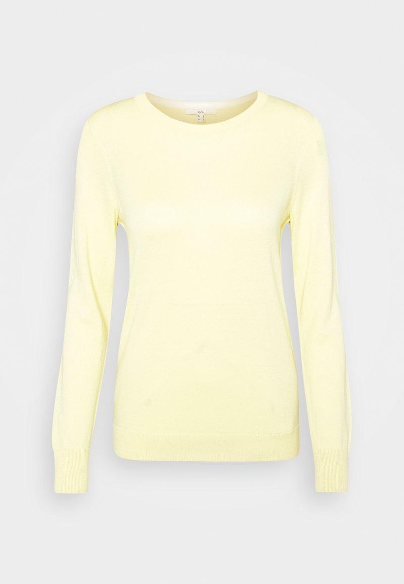 edc by Esprit - COO - Strikkegenser - light yellow