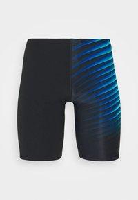 Speedo - PLACEMENT JAMMER AM - Swimming trunks - black/light adriatic - 0