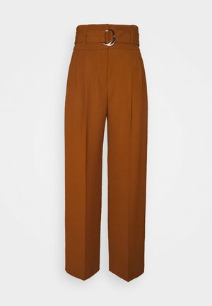 HILOVI - Trousers - rust copper