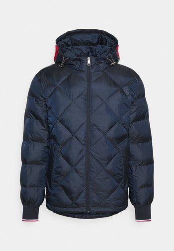 TWO TONES - Winter jacket - blue