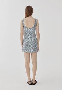 PULL&BEAR - Day dress - blue - 2