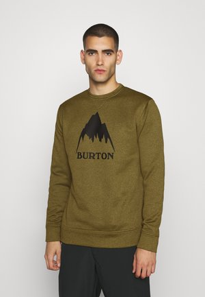 OAK CREW - Sweater - martini olive heather