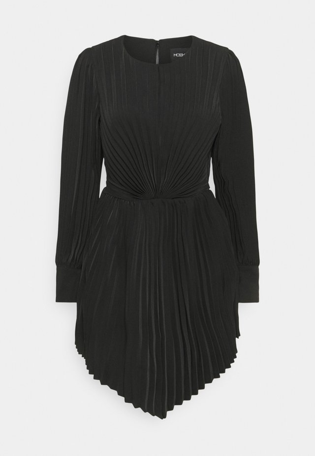 THE BREAKTHROUGH MINI DRESS - Cocktailklänning - black