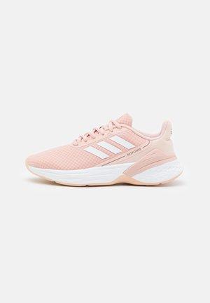 RESPONSE SR - Zapatillas de running neutras - vapour pink/footwear white/iron metallic