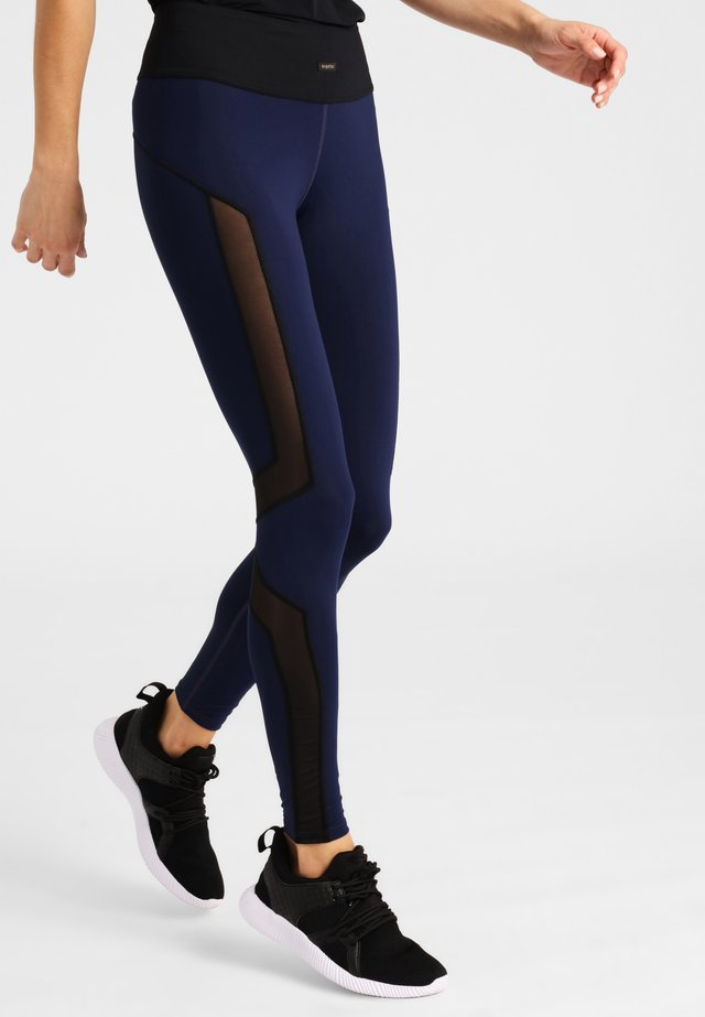 Tights - blue