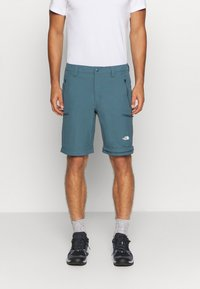 The North Face - EXPLORATION CONVERTIBLE PANT - Outdoor trousers - mallard blue - 5