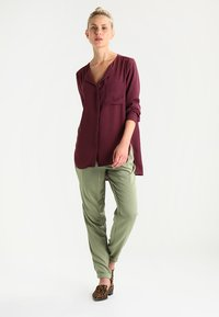 Selected Femme - SFDYNELLA - Blouse - mauve wine - 1