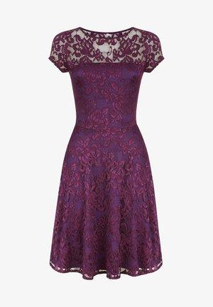 LACE FLARE  - Vapaa-ajan mekko - purple