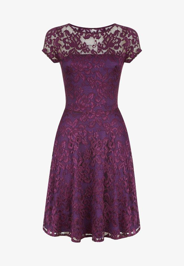 LACE FLARE  - Robe d'été - purple