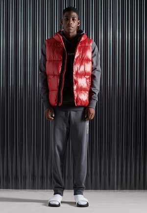 SHINE  - Waistcoat - rouge red