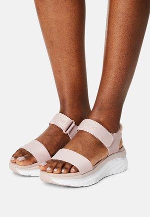D'LUX WALKER - Platform sandals - blush