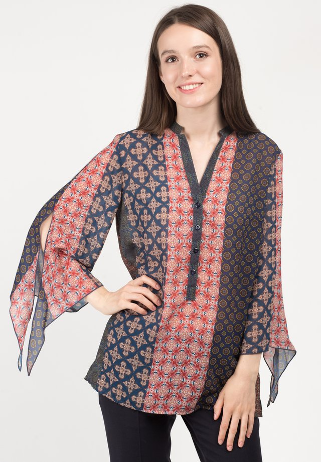 FELICHITA - Blouse - blue and red
