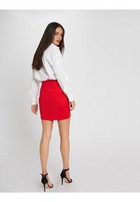 Morgan - A-line skirt - red - 2