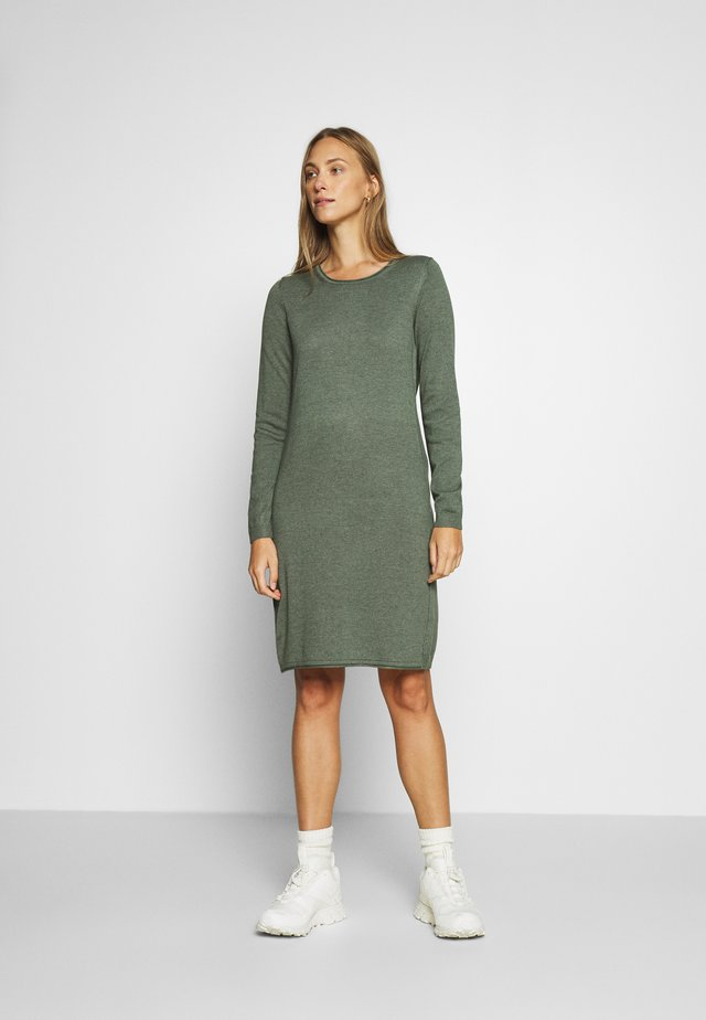 DRESS - Jumper dress - khaki green