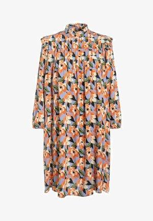 Korte jurk - cornflower blue