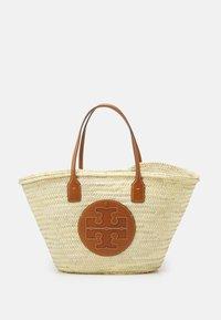 Tory Burch - ELLA BASKET TOTE - Tote bag - natural - 1