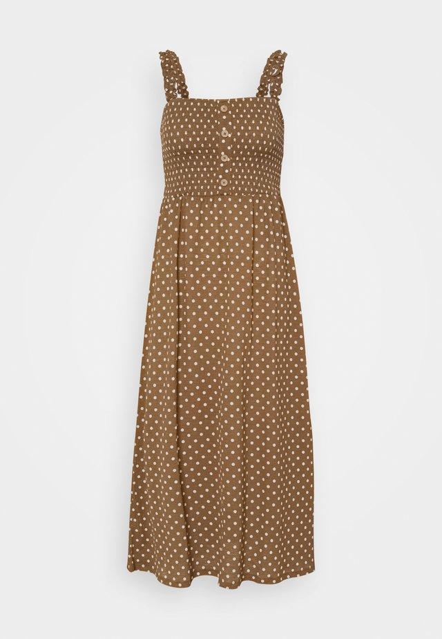 ONLPELLA DRESS - Długa sukienka - toasted coconut