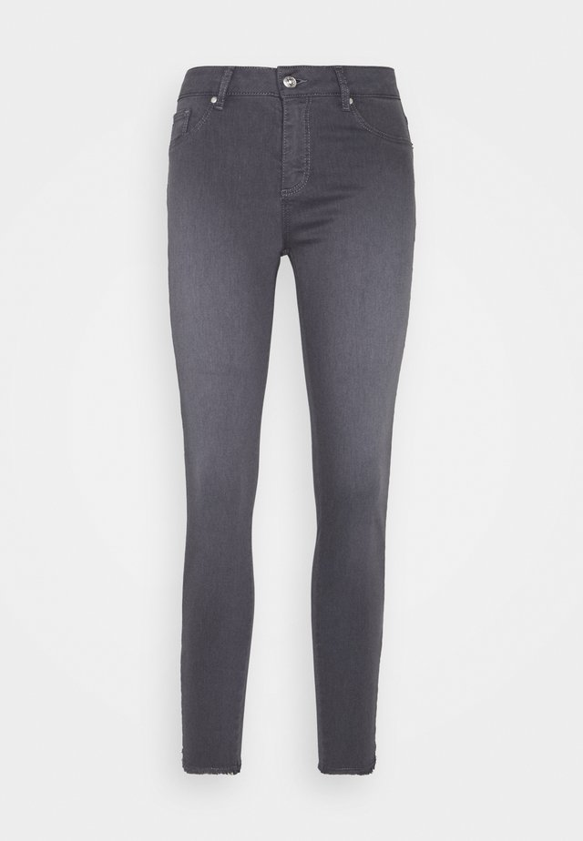 JEGGING ZIPPER - Jeans slim fit - grey