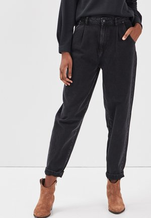 Relaxed fit jeans - denim noir