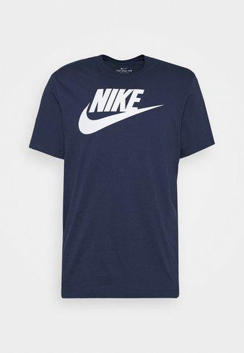 TEE ICON FUTURA - T-shirts print - midnight navy/white