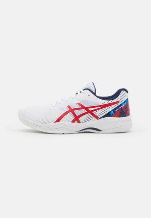 GEL-GAME 8 - Tenisové boty na všechny povrchy - white/classic red