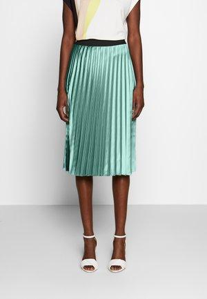 AISHA - A-line skirt - petrol