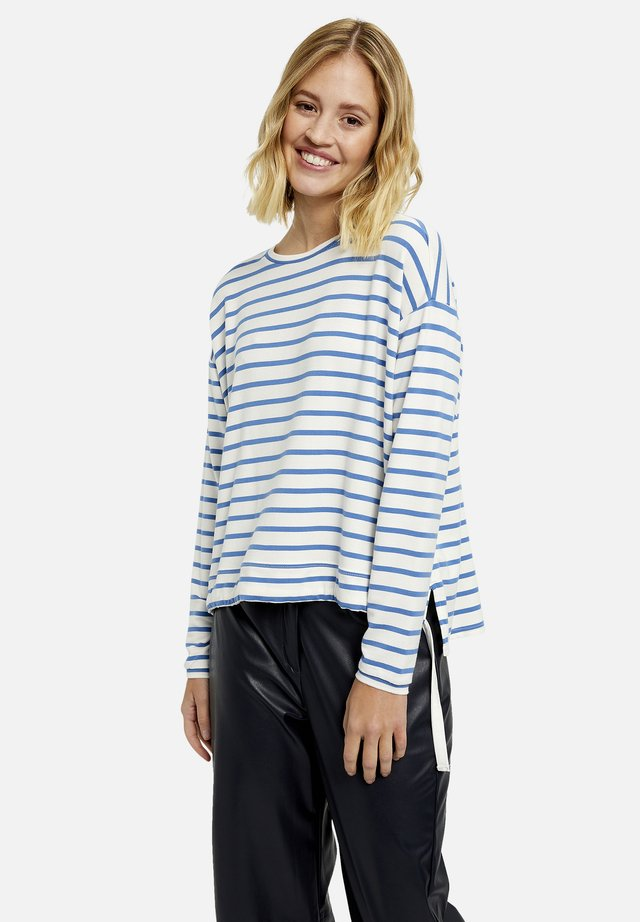 GESTREIFT - Sweater - jeansblue