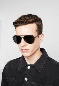 Emporio Armani - Sunglasses - black/grey - 1