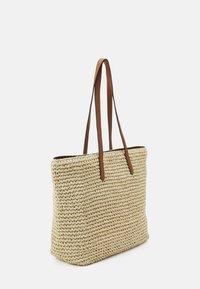 Lauren Ralph Lauren - CROCHET TOTE - Handbag - natural - 3
