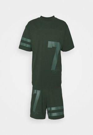 SET UNISEX - T-shirt con stampa - khaki