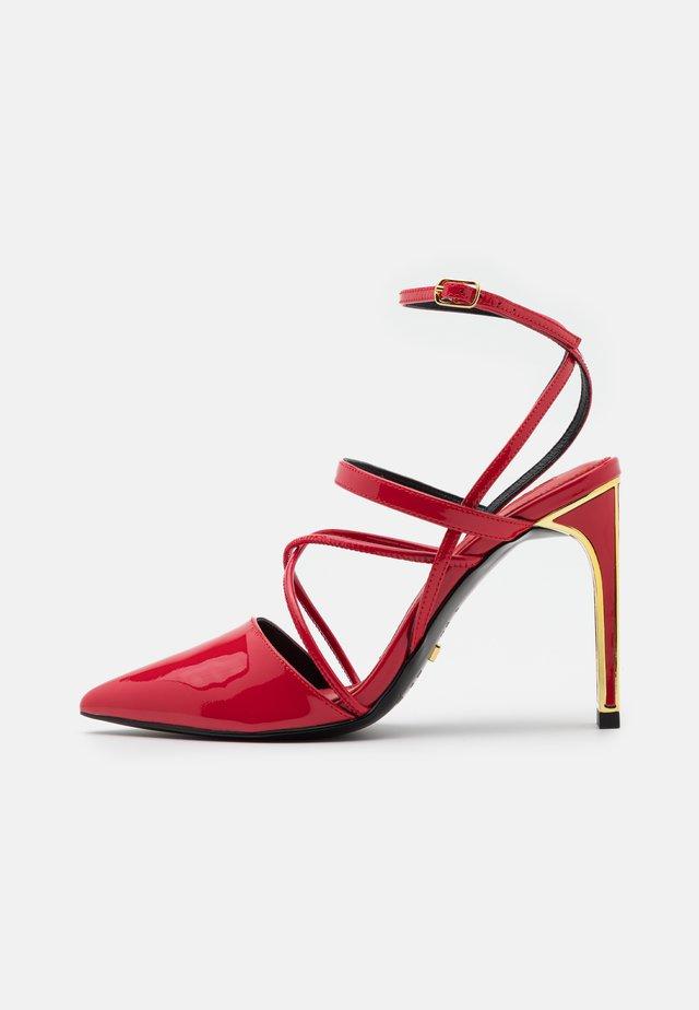 LOUISE - Classic heels - lollipop
