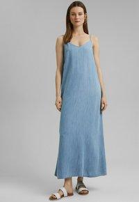 Esprit - Maxi dress - blue bleached - 0