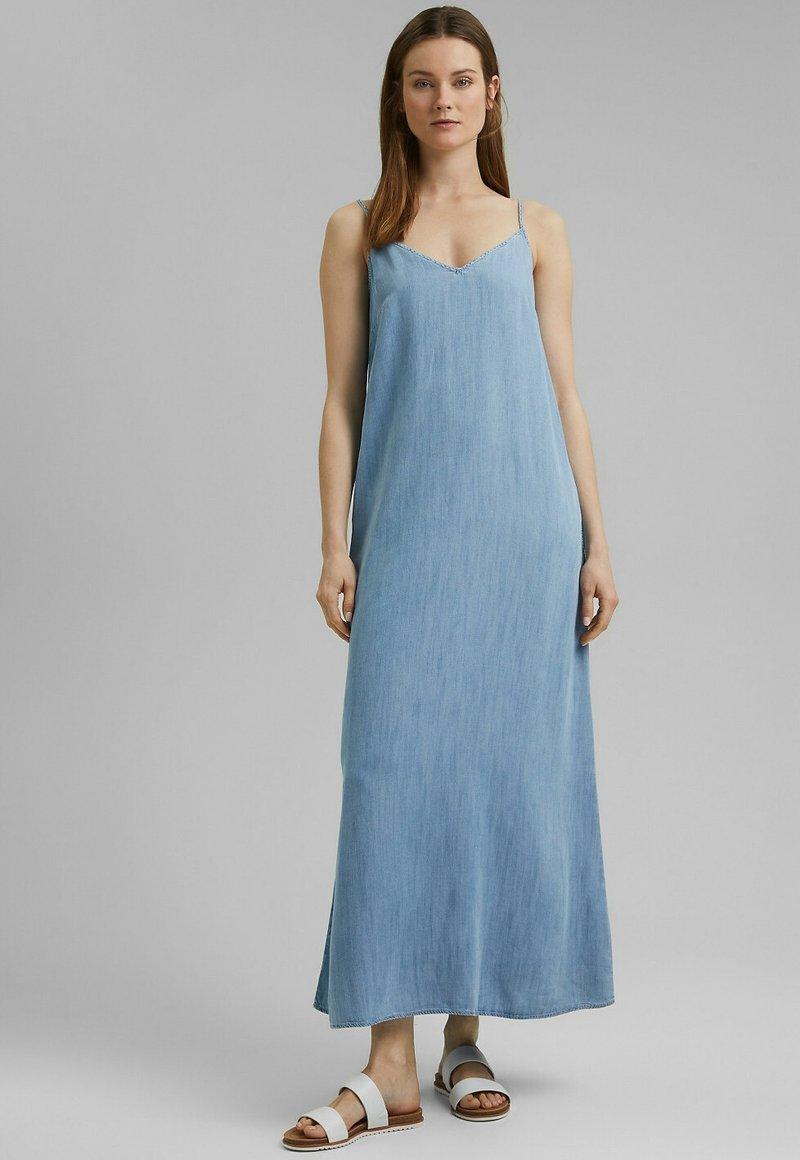 Esprit - Maxi dress - blue bleached