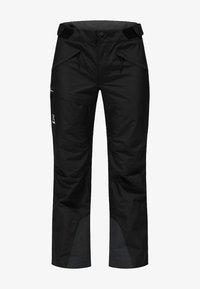 Haglöfs - LUMI FORM PANT - Snow pants - true black - 5