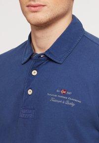 Napapijri - ELBAS - Polo shirt - blue - 4